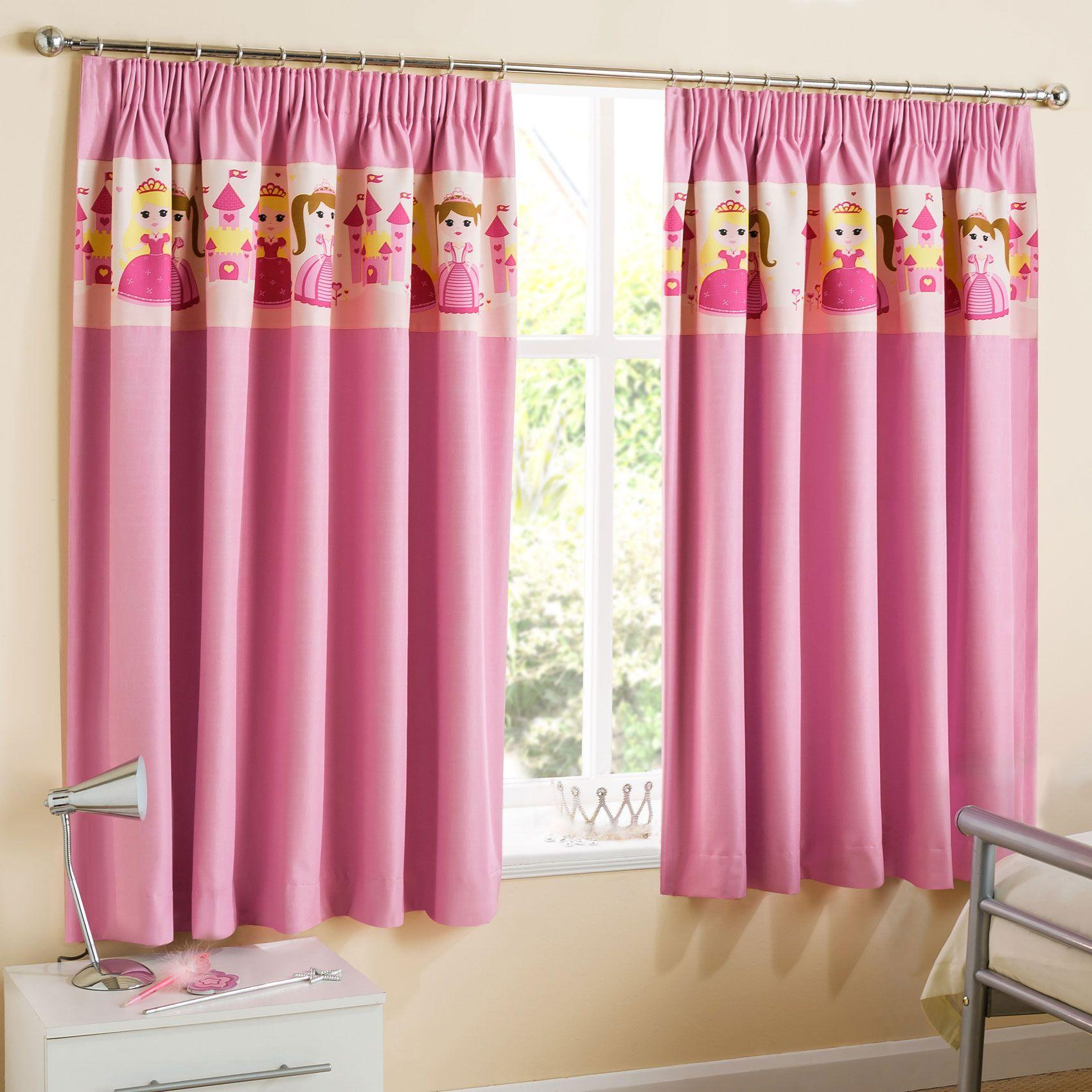 21 Vorhang rosa kinderzimmer