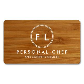 Personal Chef Business Cards And Business Card Templates Catering Business Cards Catering Business Personal Chef Business