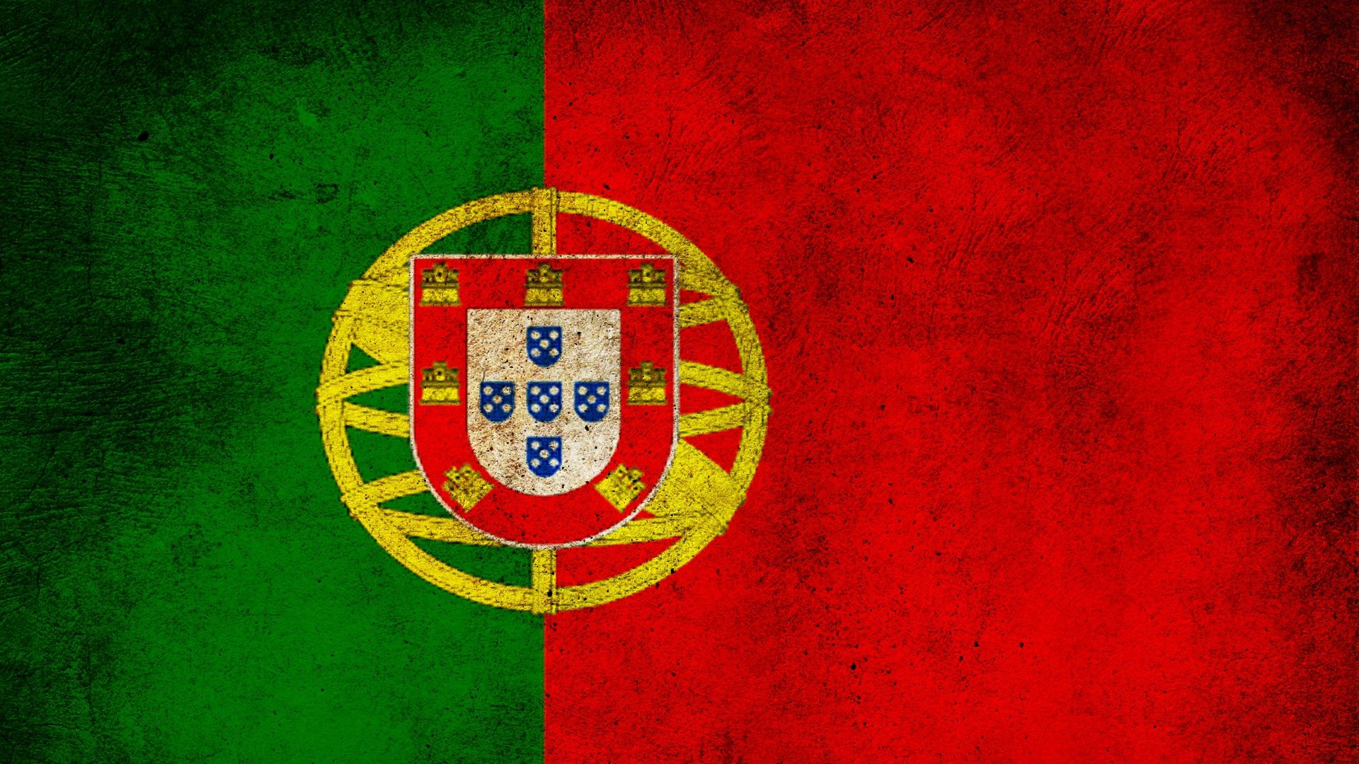 Download Wallpaper 1920x1080 Portugal Flag Stripes Colors Dirt Full Hd 1080p Hd Background Portugal Flag Flag Painting Portuguese Flag