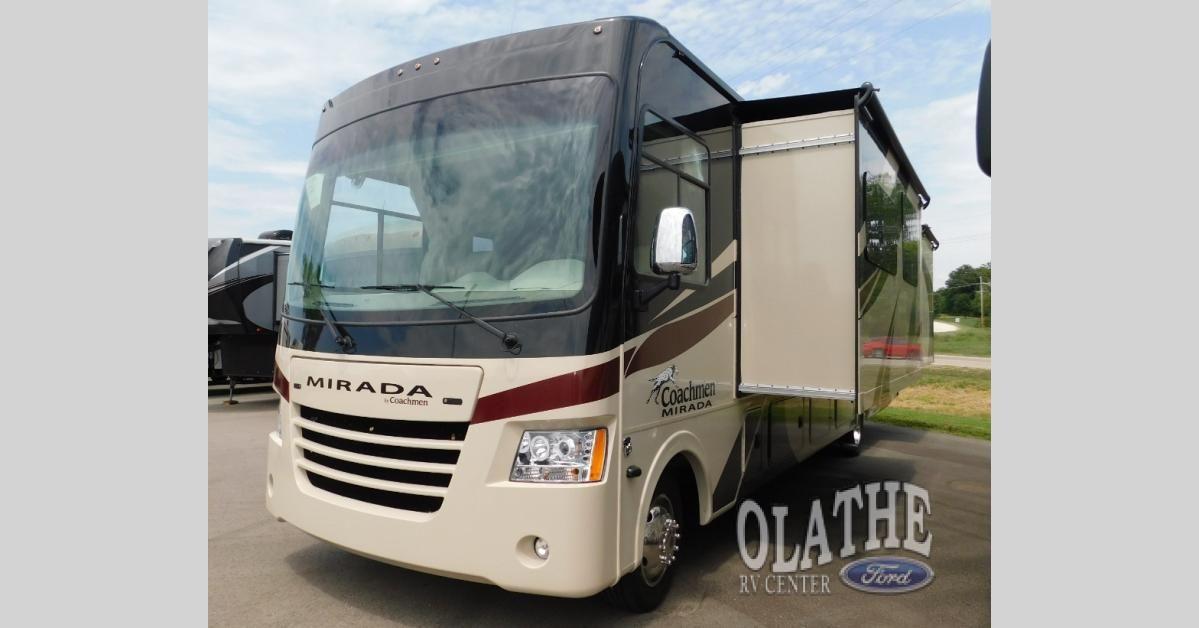 2019 Coachmen RV Mirada 35KB King Bed Sofa U-Shaped Dinette