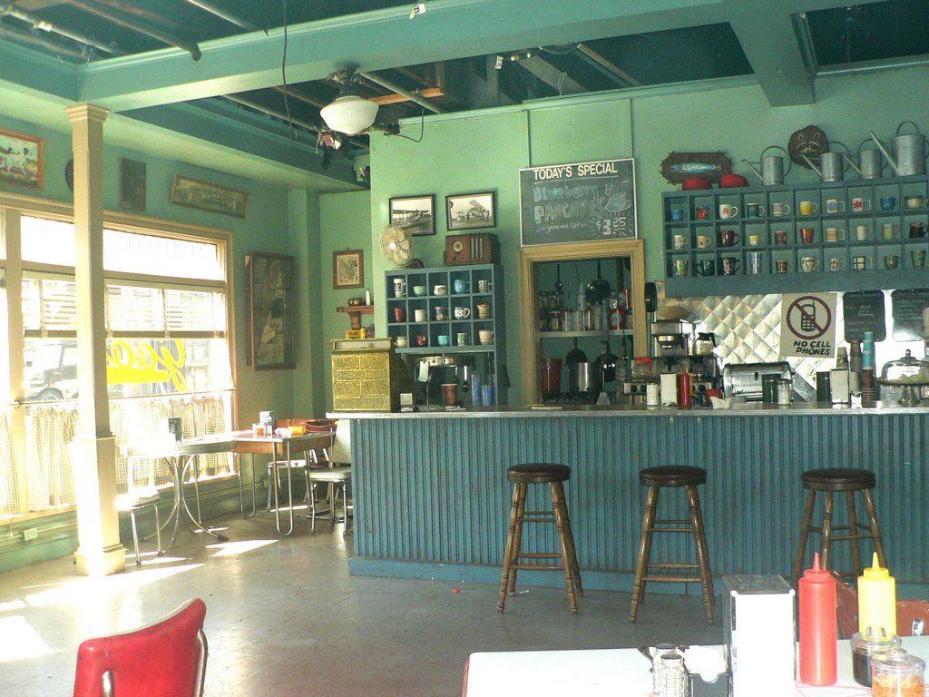 Luke S Diner Coffee Mug Display Lukes Diner Mug Display