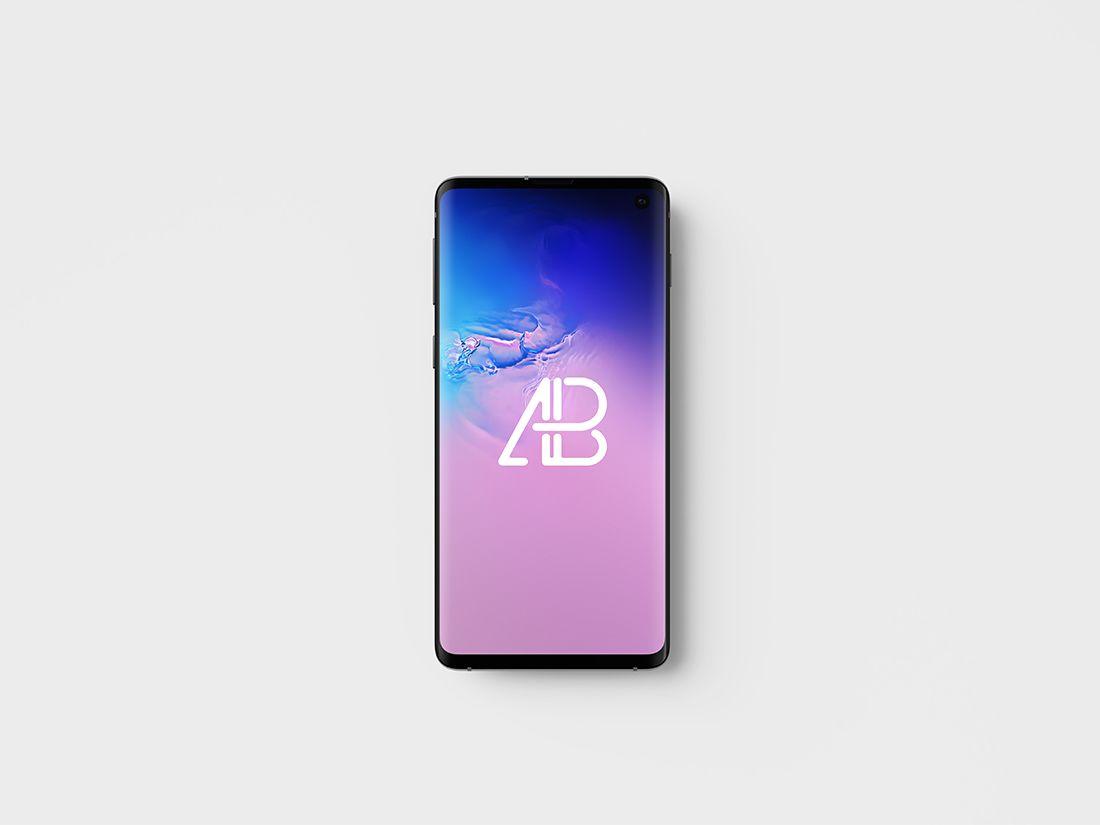 Samsung Galaxy S10 Mockup PSD Free mockup, Android