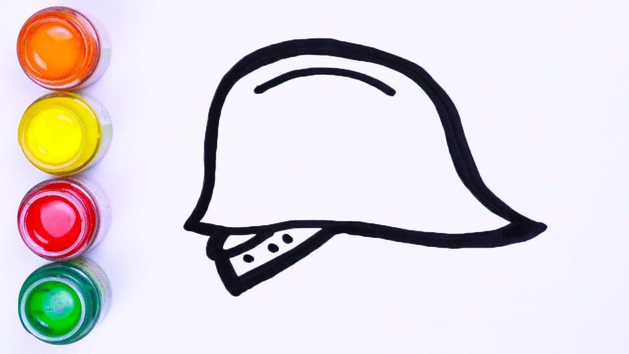 Menggambar Dan Mewarnai Konstruksi Helm Cara Menggambar Lukisan Warna Art Toy Artwork Make It Yourself