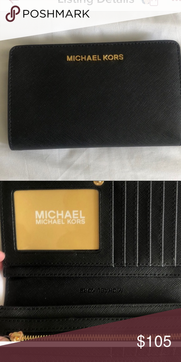 b6e81f6c7614 Michael Kord wallet Michael Kors wallet, very gently used Michael Kors Bags  Wallets