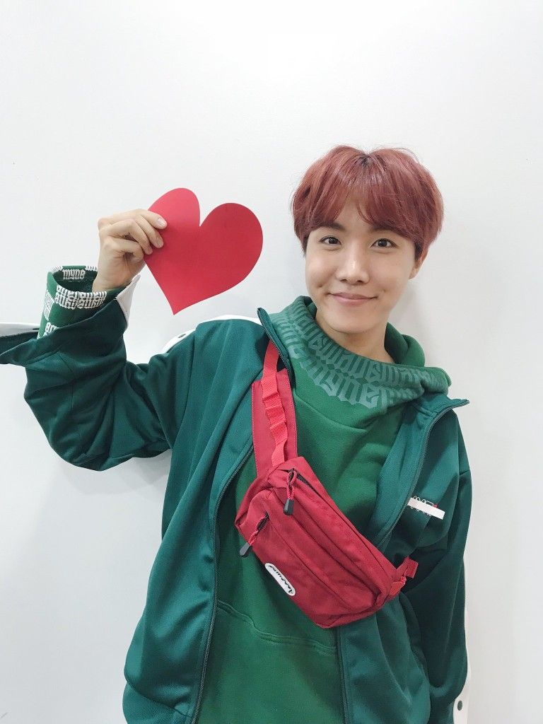 Image result for j hope heart