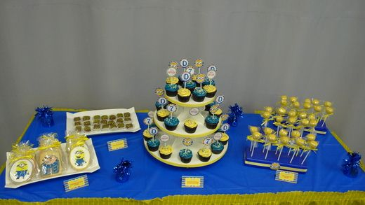 "Photo 1 of 4: Despicable Me Boy's Birthday / Birthday ""Despicably Sweet Birthday"" 