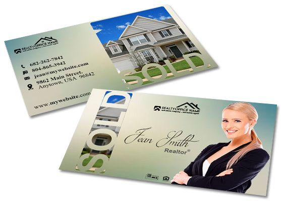 Real estate business cards template real estate business card creative real estate business card template modern business cards realtor business cards real flashek Images
