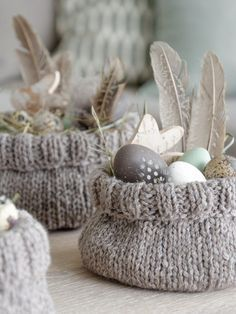 Photo of DIY | knit cute Easter baskets yourself – mxliving