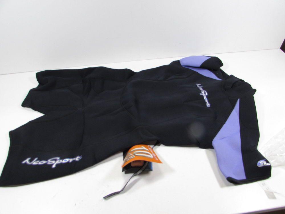 NeoSport Wetsuits Women s Neoprene 3mm Shorty Lavender Trim 12 S630WB-51-12  (eBay Link) 6259b341f