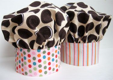 How to make a child s chef hat (maybe for a cooking birthday party or just  creative play) 46e2d07f8b2