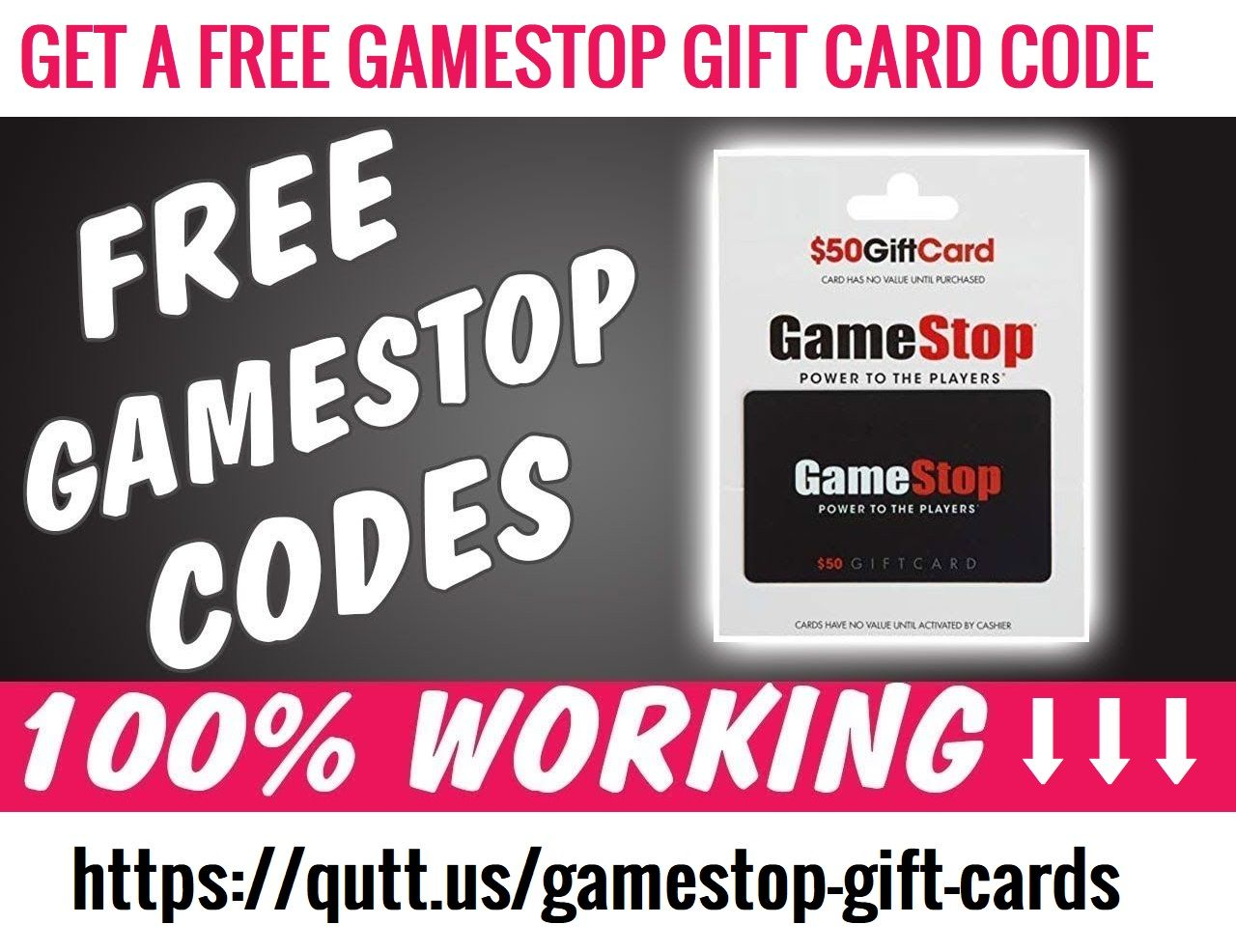 Gamestop gift card codes redeem generator 100 working