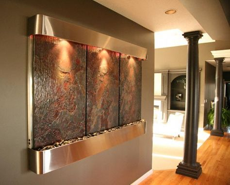 Modern Indoor Waterfall Fountain Indoor Wall Fountains Wall