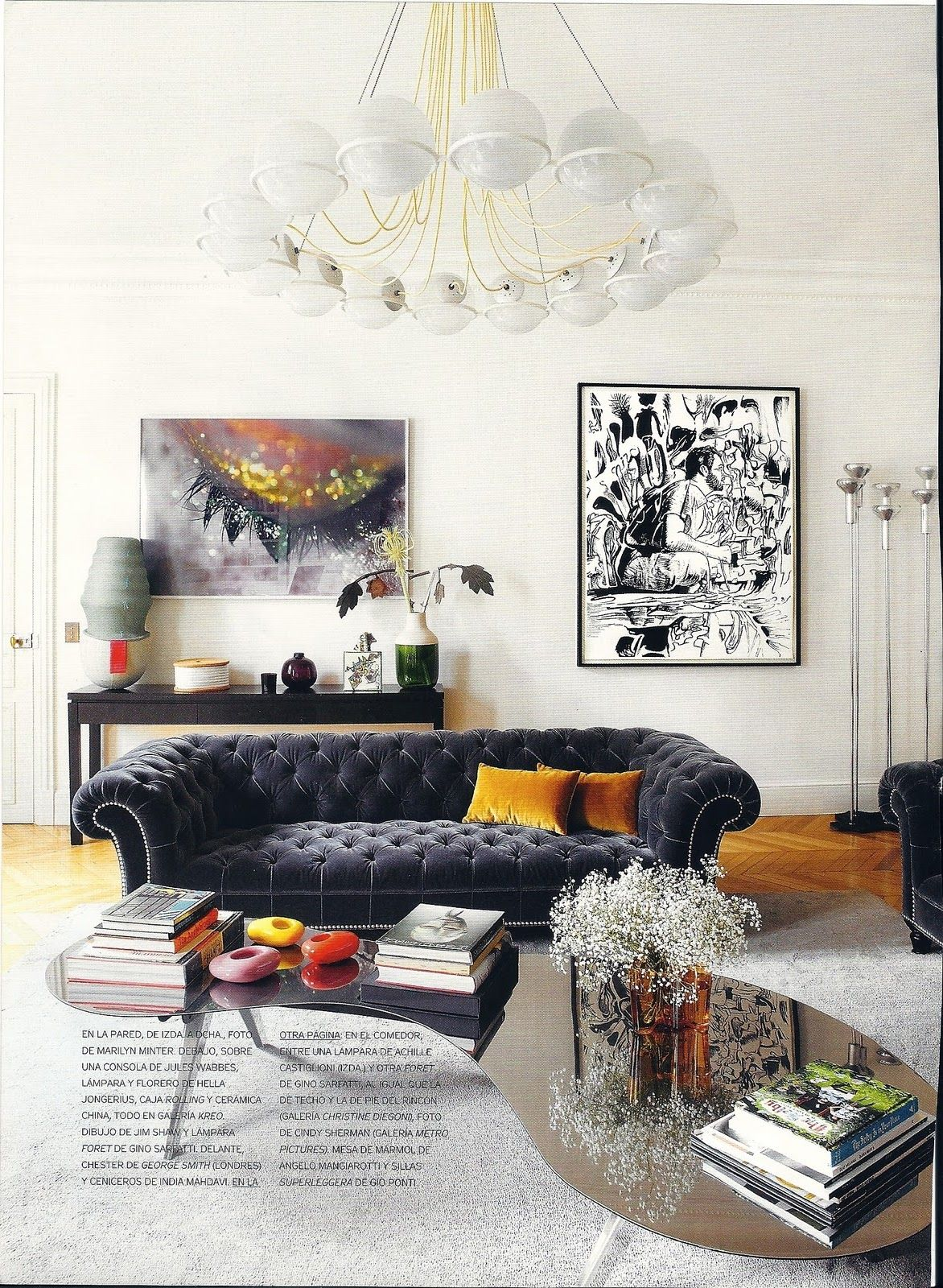 lovely eclectic space