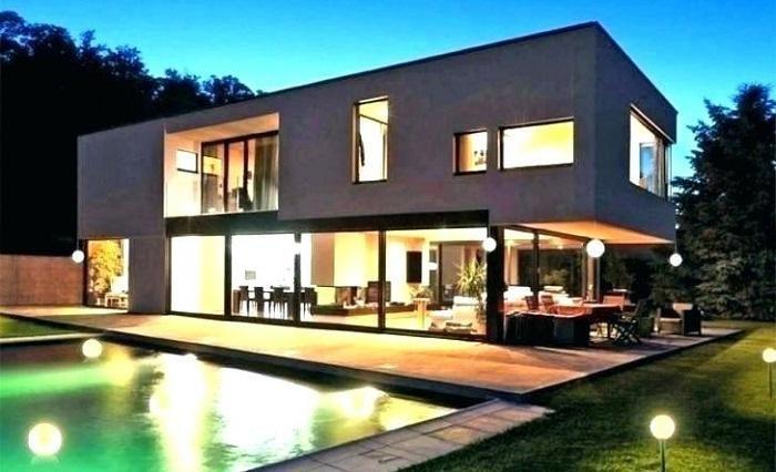 Illuminazione LED per facciate luci Pool patio designs