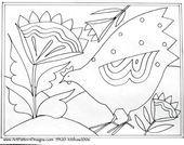 Sun Flower Hen 15x20  DOODLE  RAMA
