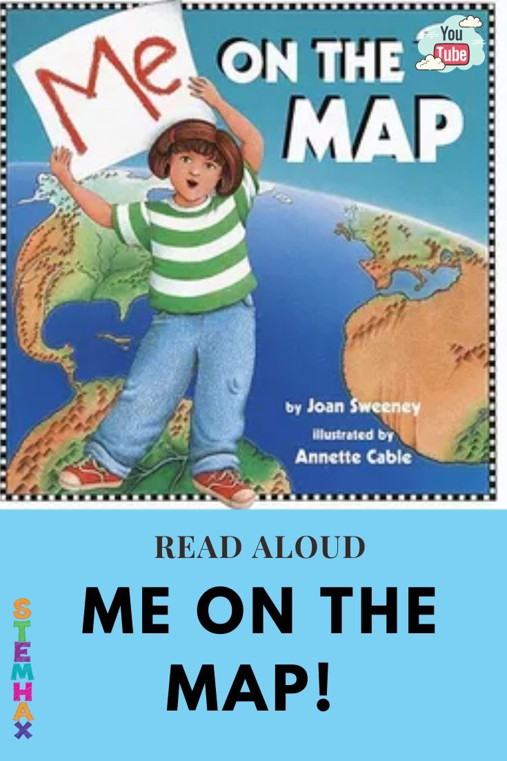 Me on the map read aloud in 2020 read aloud geography