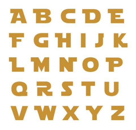 c78496462130af434906327578512b06  Inch Letters Alphabet Free Printable Name Template on