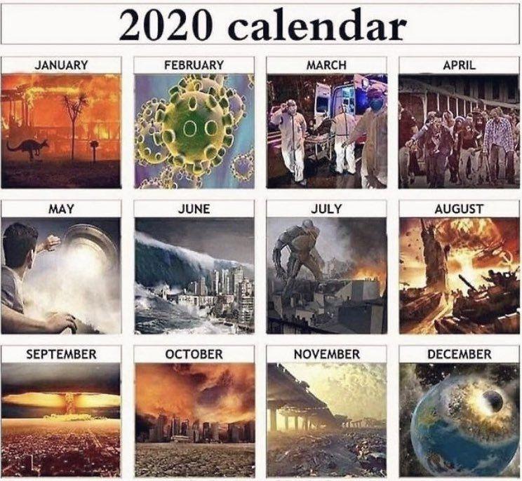 2020 Calendar April March Memes Fresh Memes