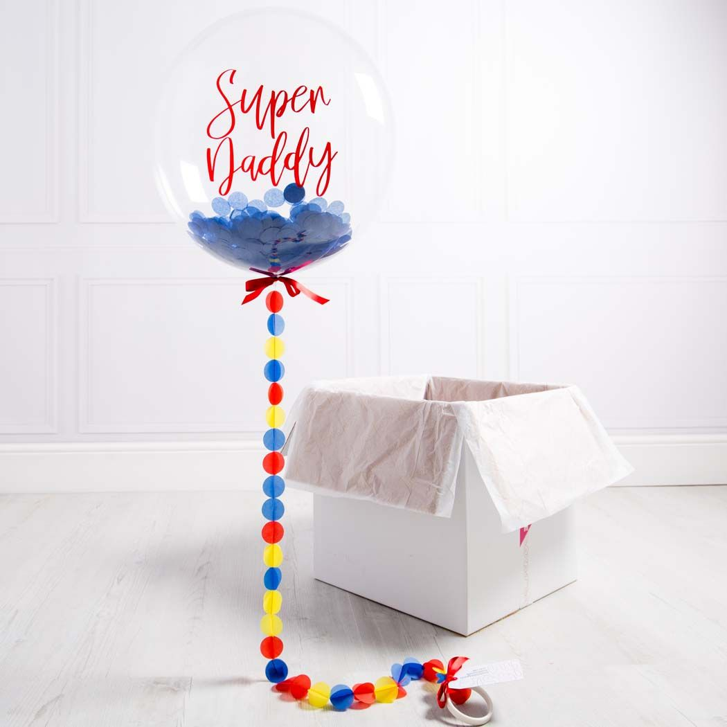Fathers day gift bubblegum balloons diy fathers day