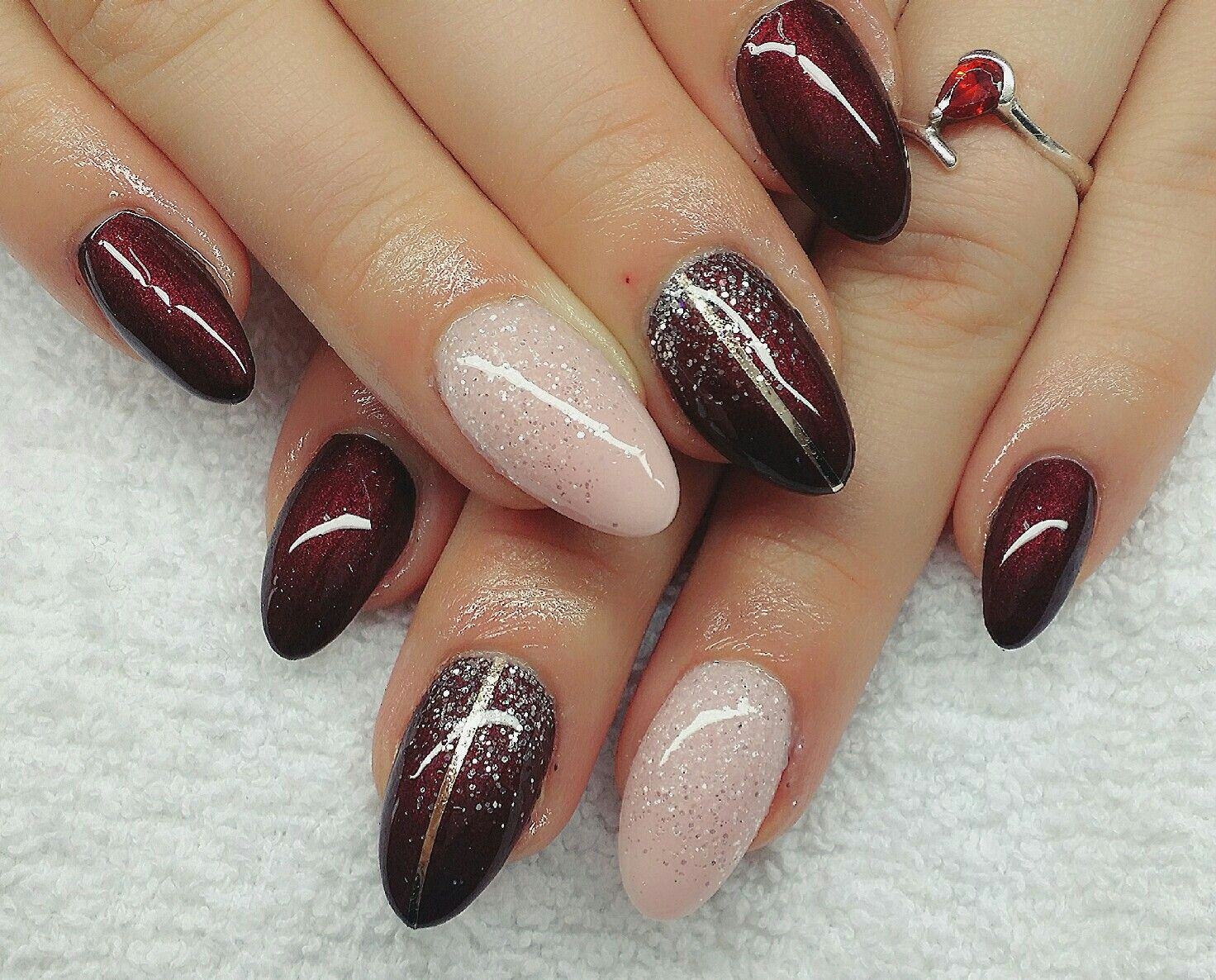 nail design fullcover siebensch n nails pinterest nail color designs fun nails and art nails. Black Bedroom Furniture Sets. Home Design Ideas