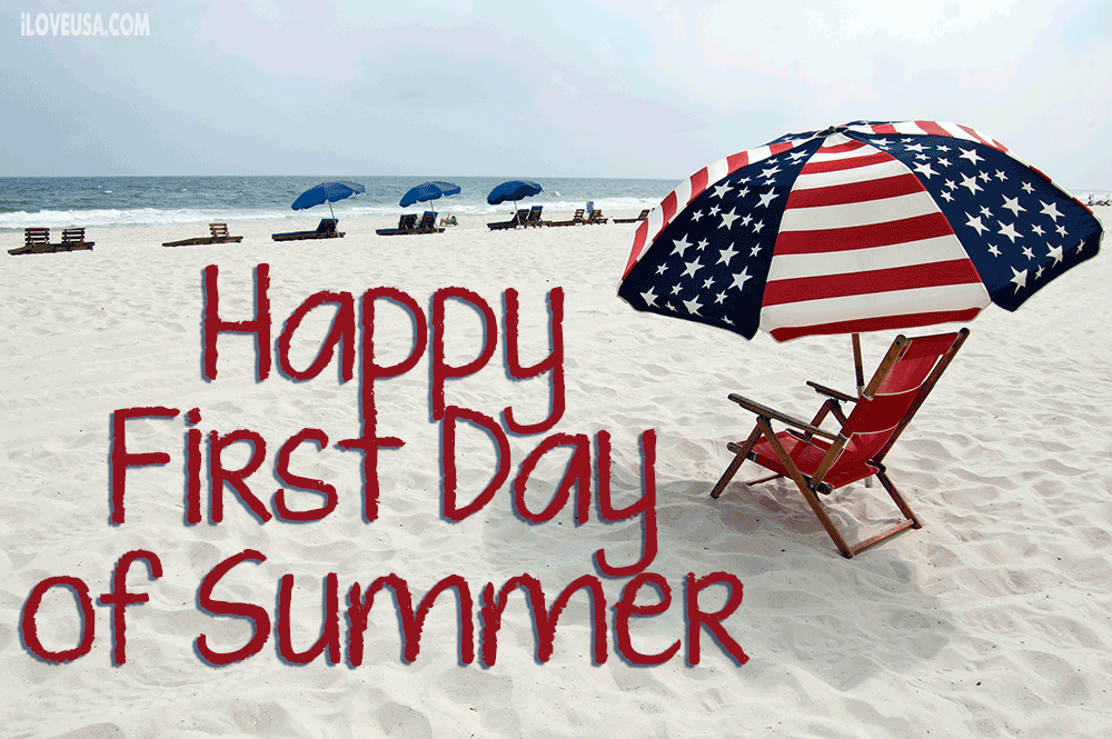 Happy First Day of Summer! - http://www.iloveusa.com/events/happy-first-day-s...