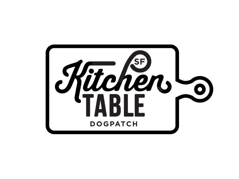Kitchen Table Sf Logo A Inspiration Pinterest Logos Corporate