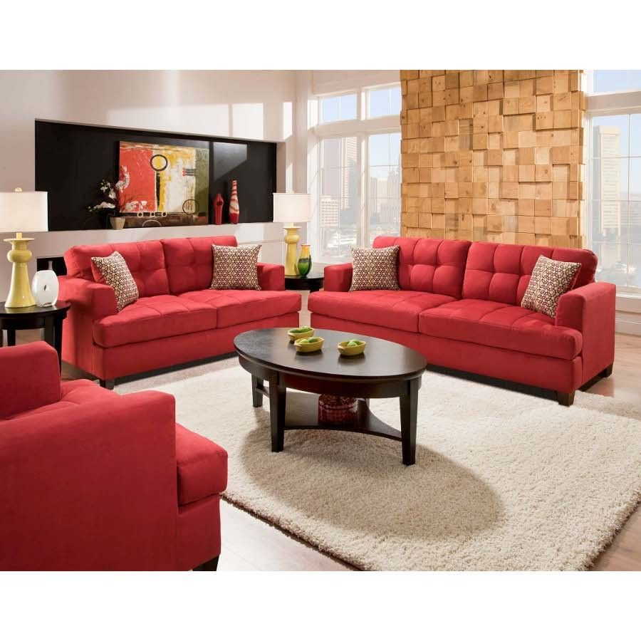 Best American Furniture Taylor Sofa Conns Com Red Couch Living Room Living Room Red Sofa Home 640 x 480