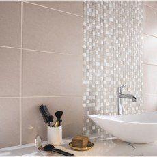 Mosaique Mur Mystic Greige Argent Maison Pinterest