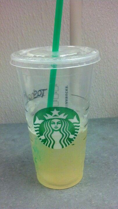 Peach, green tea lemonade.