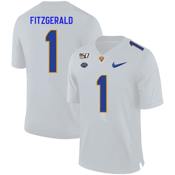 check out 70fd5 a1df2 2019 Men #1 Larry Fitzgerald Pitt Panthers College Football ...