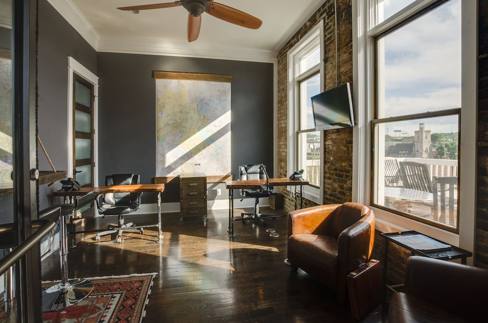 Historic Downtown Nashville Renovation // By Aerial Builders. Office Space  Designed To Ignite Creativity