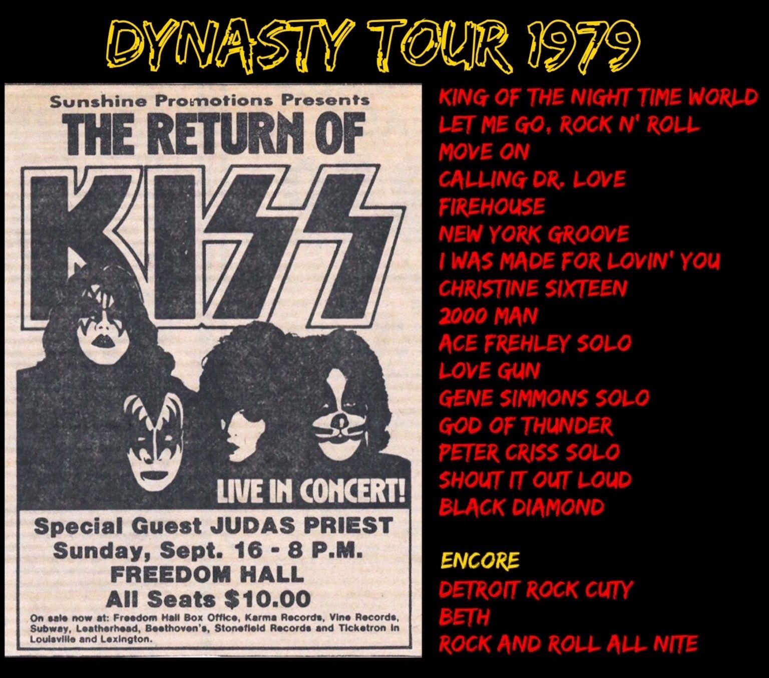 I Was There Kiss Dynasty Rocknroll Louisville Kentucky