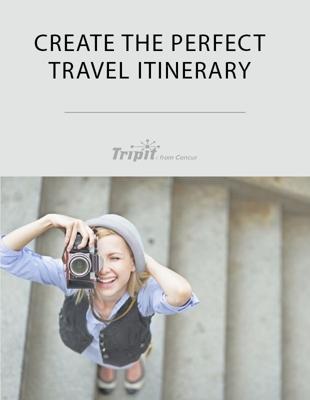 Steps For Creating The Perfect Travel Itinerary Template  C