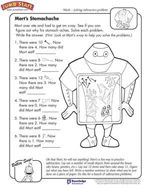 Number Names Worksheets : kindergarten problem solving worksheets ...