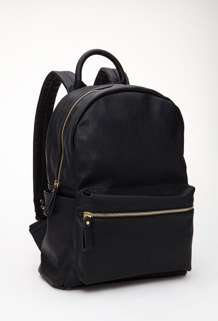 27ebabbeb357 Classic Faux Leather Backpack | Forever 21 Canada | Fashion in 2019 ...