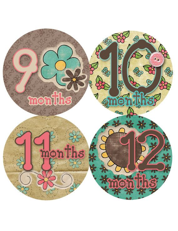 SALE SALE Monthly Onesie Stickers... Cute as a Button...Fast Shipping...Waterproof. $8.28, via Etsy.