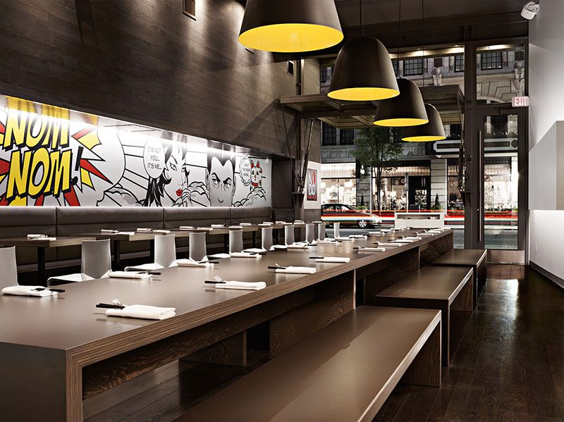 Nudo Ramen House Spokane Wa Architecture Interior Design