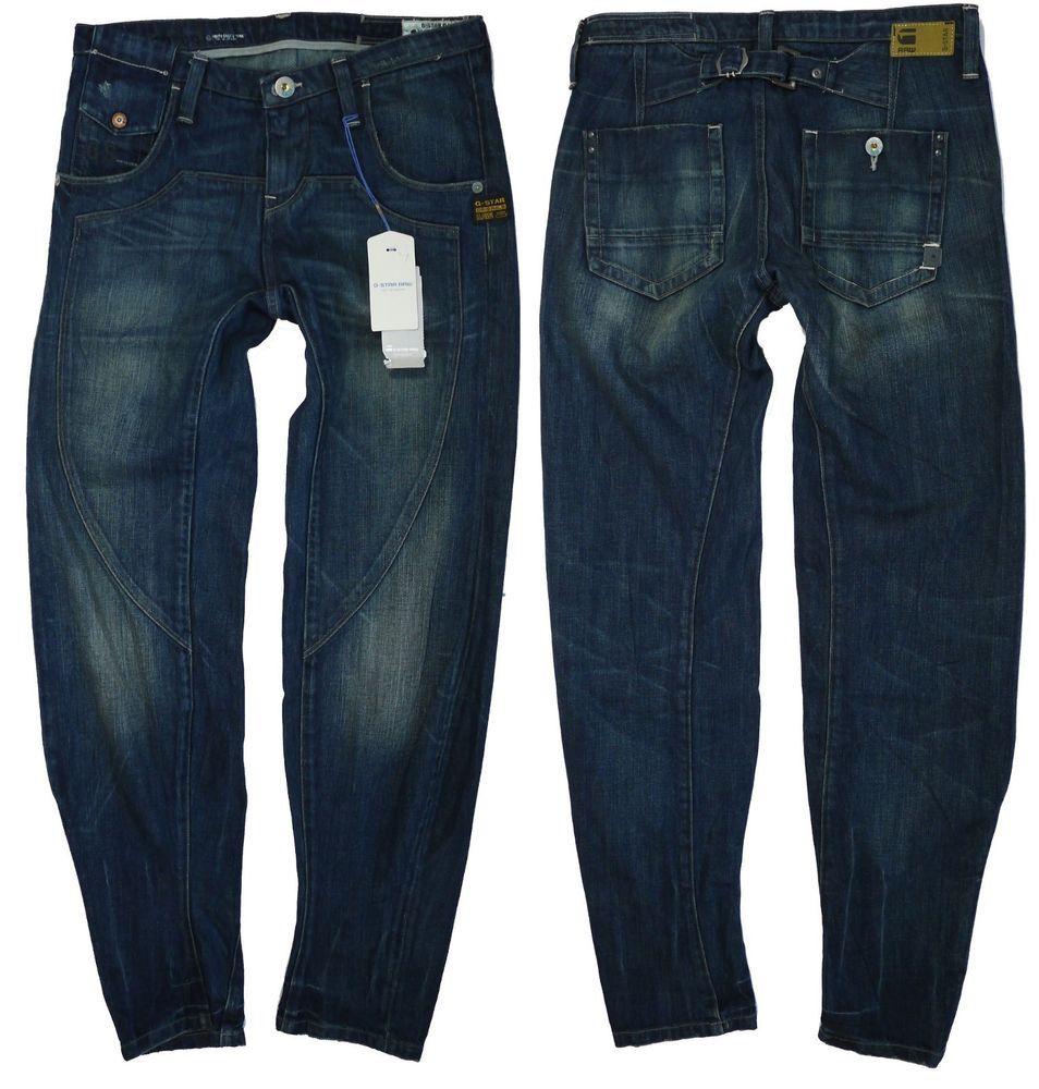 04a60dafec5 G-Star Womens Jeans W-27 L-32 Rugbi Loose Tapered Bourne Denim New ...