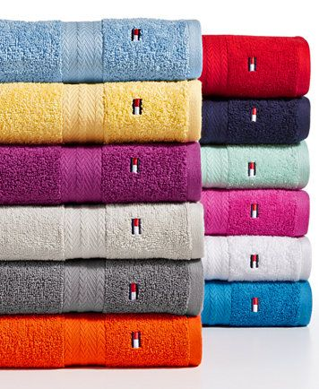 All American Ii Cotton Mix And Match Bath Towel Collection