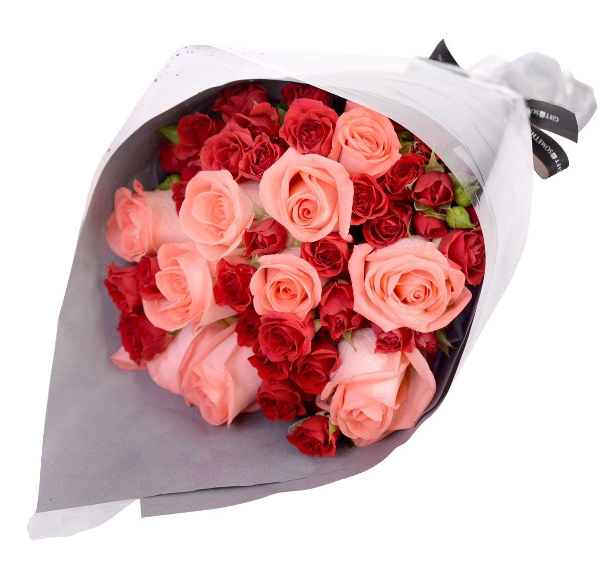 Pink Roses Mini Roses Bouquet Singapore Online Florist Online Florist Flower Delivery Mini Roses