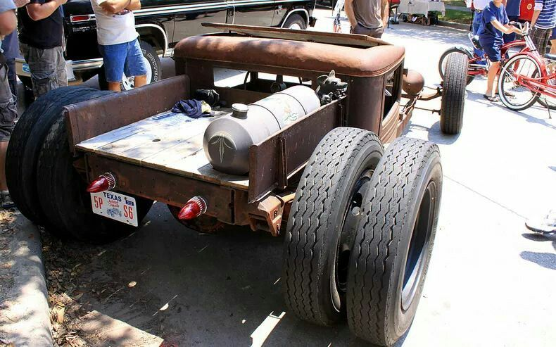 29 Chevy rat rod dually..