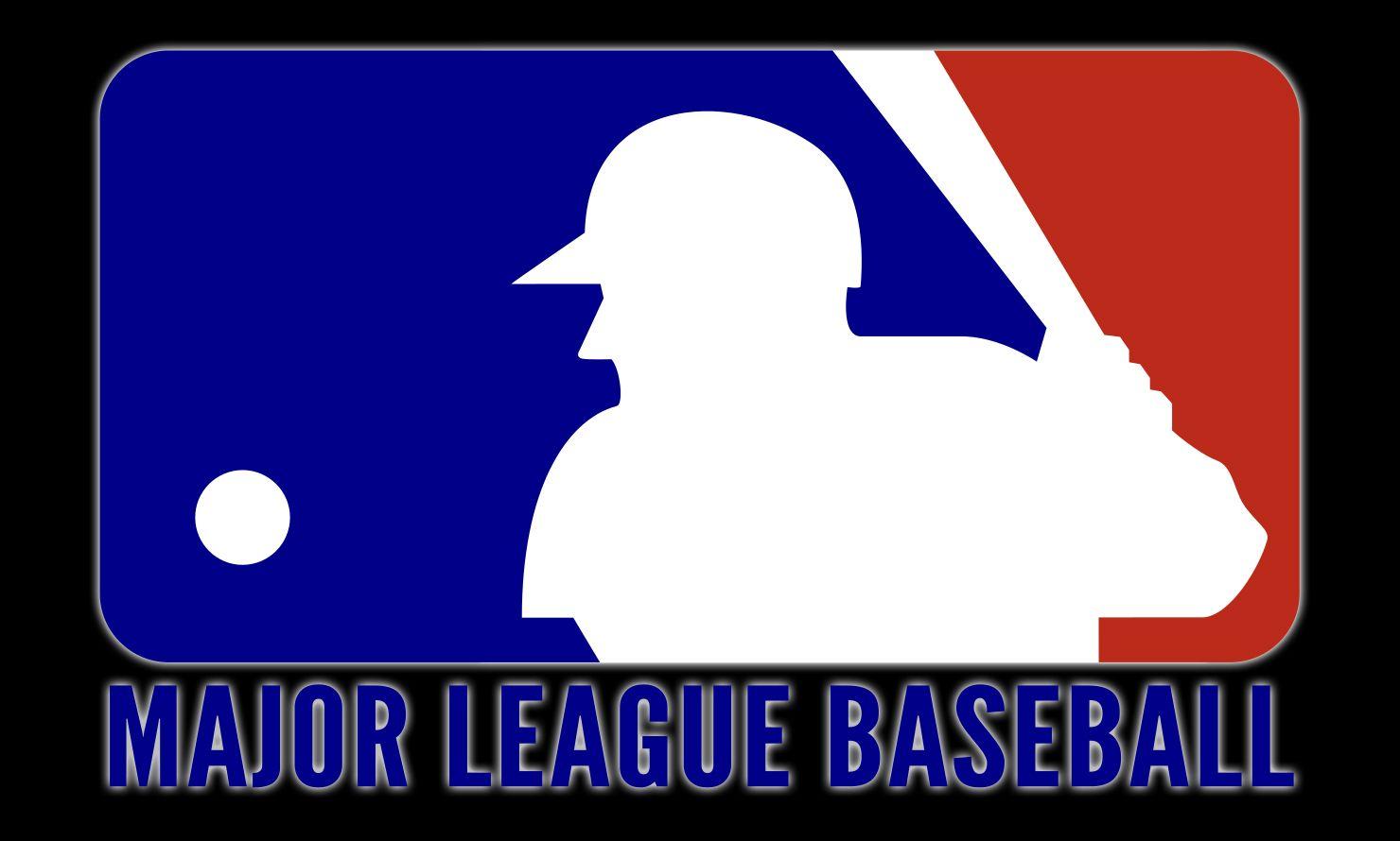 Mlb Symbol Major League Baseball Logo Major League Baseball Mlb Logos