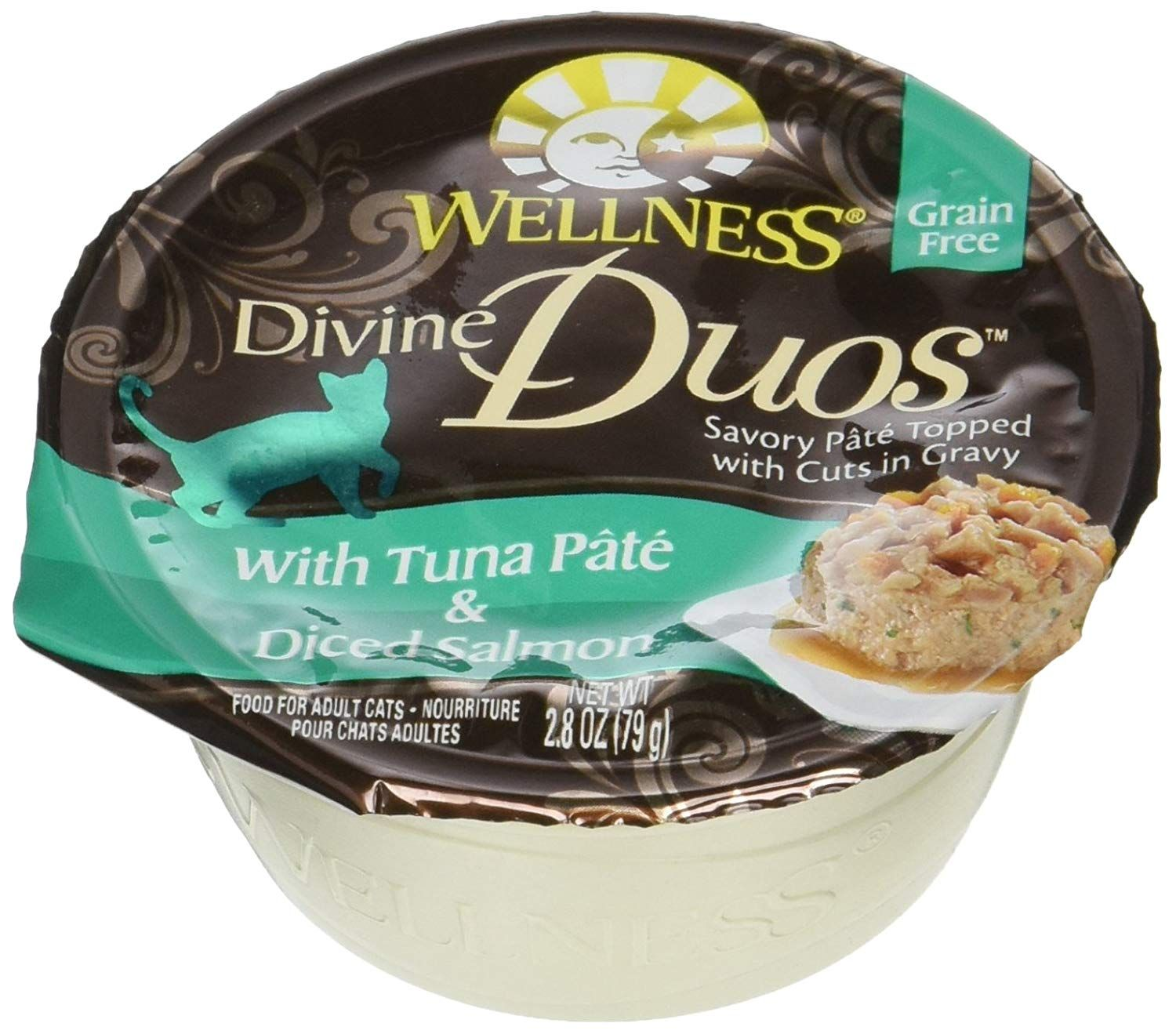 Wellness Divine Duos with Tuna Pate and Diced Salmon