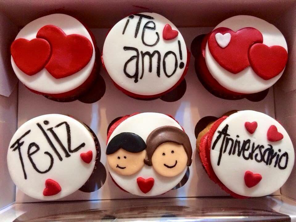 Cupcake Amor Y Amistad Amore Pinterest Cupcakes Valentine