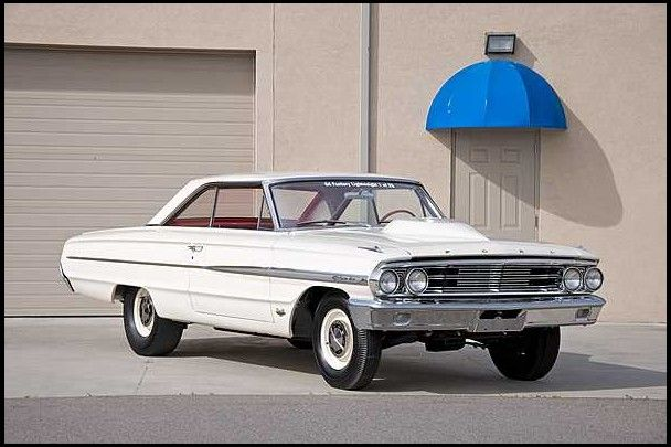 245 000 1964 Ford Galaxie 500 Lightweight 427 Ci 1 Of 25