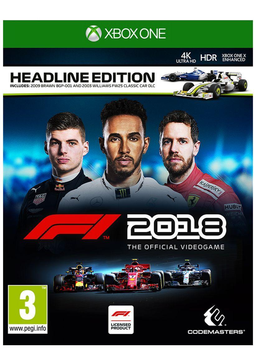 F1 2018 Headline Edition on Xbox One SimplyGames