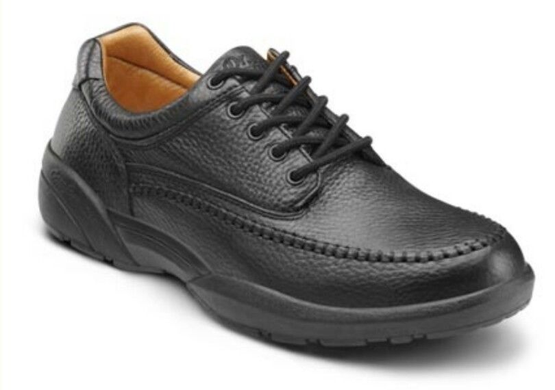 New Dr Comfort Mens Stallion Black Leather Health Shoes Size 12 Extra Wide 8710 Diabetic Diabetes Diabeticsh Mens Casual Shoes Hiking Shoes Mens Shoes Mens