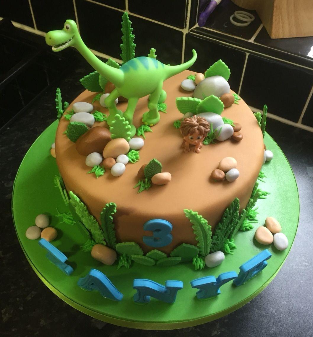 32 Excellent Image of Dinosaur Birthday Cake Dinosaur Birthday Cake The Good Dinosaur Birthday Cake Torten In 2018 Pinterest cake decorating recipes kuchen kindergeburtst...