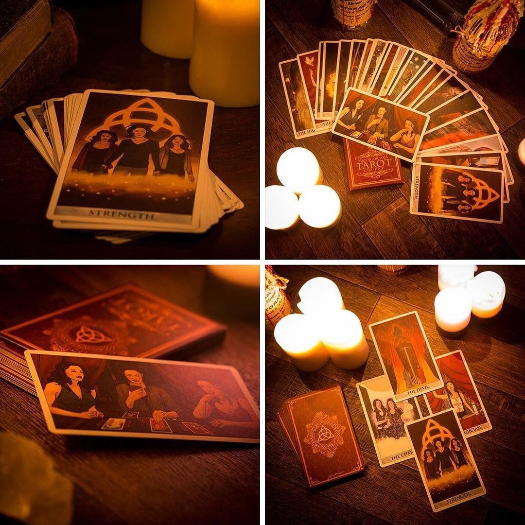 Charmed tarot cards featuring the major arcana i need and