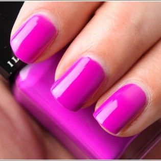 Fuschia Nails For Bridal Party